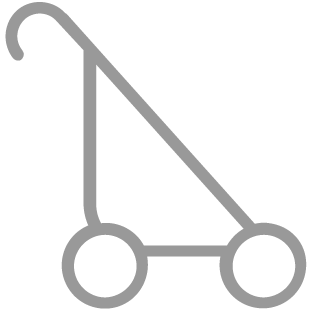 Renting a baby stroller