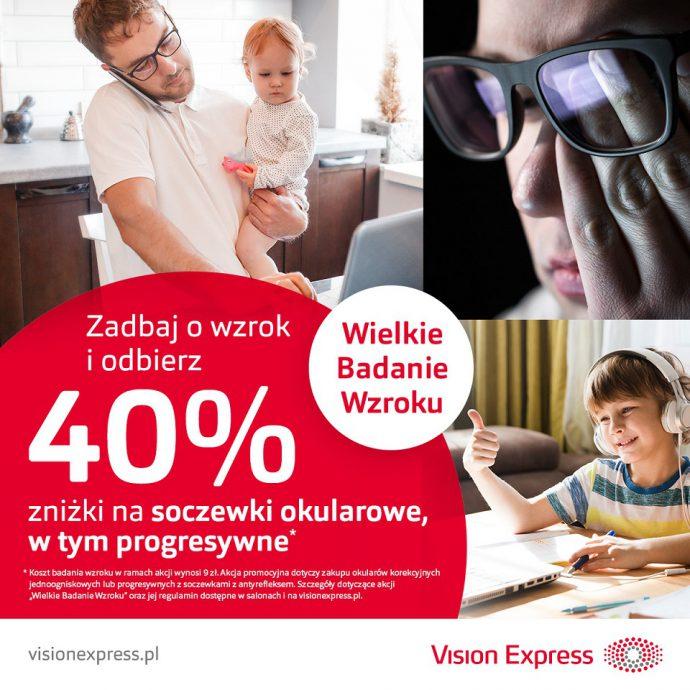 Wielkie Badanie Wzroku ponownie w salonach Vision Express!
